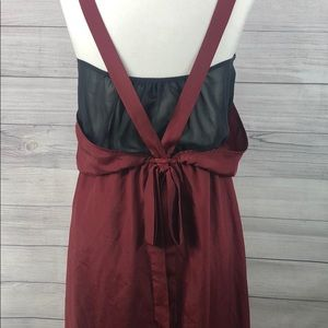 1. State - Double Layered Midi Dress - S